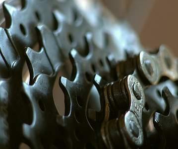 Chain and Sprockets - Steve Crossley Equal sixth place members' choice - Set.