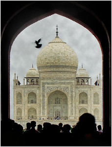 The Taj Mahal - Dean Craig Equal second place members' choice and equal second place judge's choice - Set.
