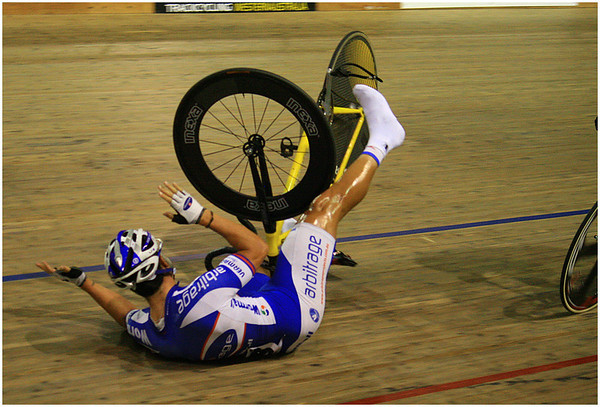 How Not to get off the Bike - Hans Wellinger<br /> Fifth place members' choice and equal third place judge's choice.