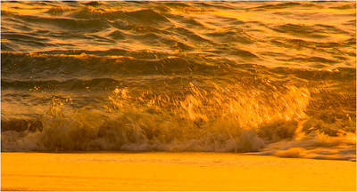 Waves at Sunset - Bruce Finkelstein Equal Fifth Members choice. Open