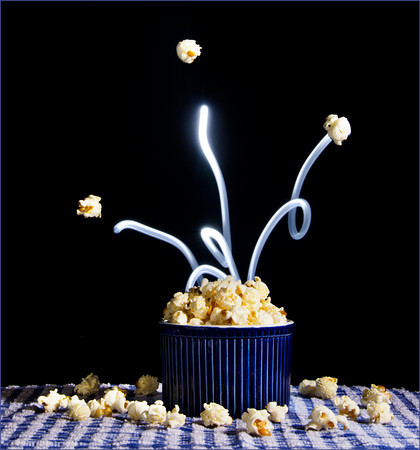 Popping Corn - Kim McAvoy<br /> Second Members Choice.<br /> Set