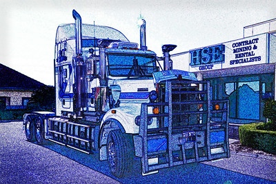 The Truck - Glen Moralee Merit - Judges Choice Altered Reality