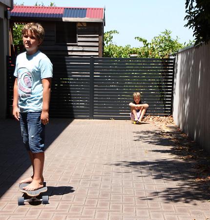 Skateboarder - John King<br /> Set subject