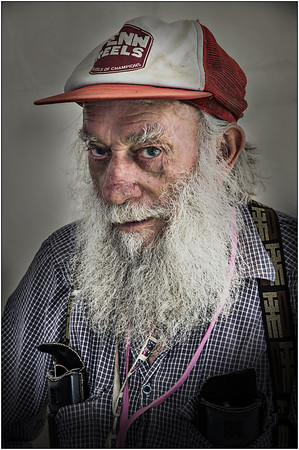 Old Bill - Martin Yates<br /> First place judge's choice, second place members' choice