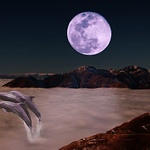 Moonscape - Kim McAvoy<br /> Second place judge's choice - Altered Reality