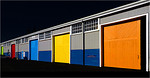 Coloured Sheds - Phil Burrows<br /> Fourth place members' choice