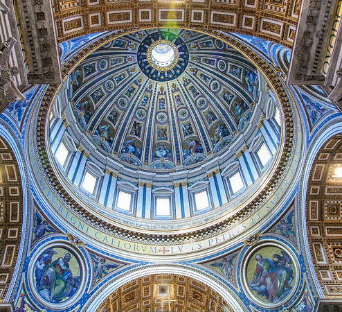 St Peter's Dome - David Sargeant<br /> Equal third place members' choice - Set