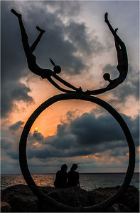 Circle of Love - Richard Goodwin Fourth place members' choice.