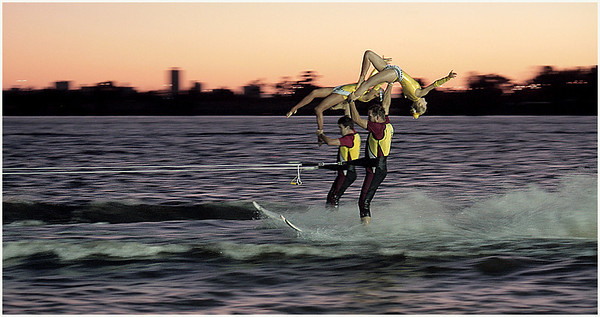 Trick Skiers - Hans Wellinger<br /> Fourth place members' choice.