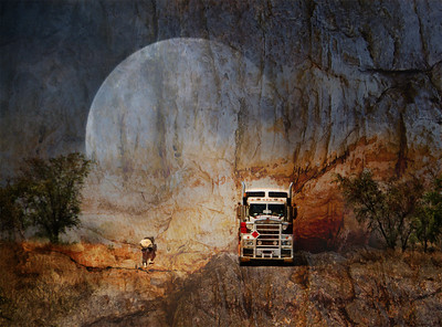 Trucking - Kim McAvoy Altered Reality/Creative - Third place members' choice.