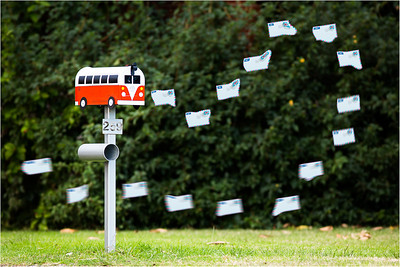 Air Mail - Glen Moralee Altered Reality/Creative - First place judge's choice.