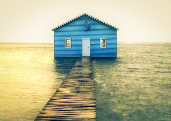 Boat House Blues - Ray Ross<br /> Fourth place members' choice and Judge's Merit