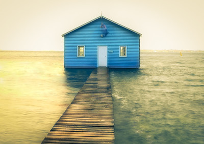 Boat House Blues - Ray Ross Fourth place members' choice and Judge's Merit