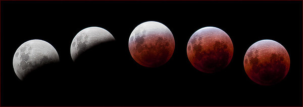 Lunar Eclipse - Stan Bendkowski Set - Second place Members' choice