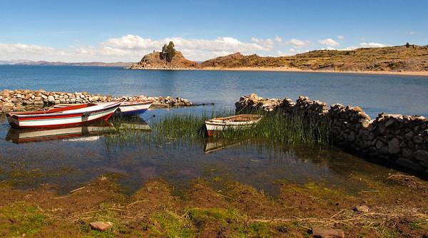 Lake Titikaka - Connie MacErlean<br /> Sixth Place Members' choice