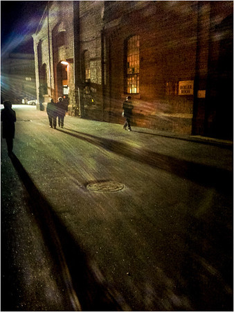 Out Late - Richard Goodwin<br /> Third Place Judge's Choice and Fifth Place Members' Choice - Set Subject