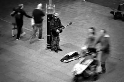 Busker - Todd Edwards First Place Members' Choice - Set Subject