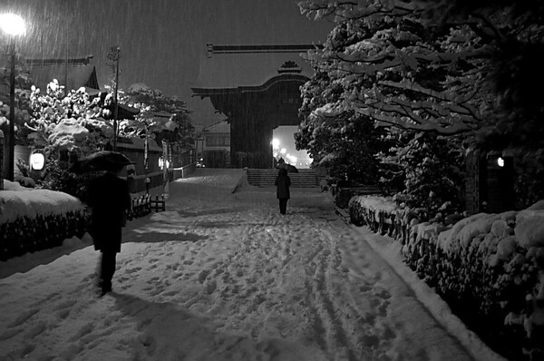 Snowy Street - Todd Edwards<br /> Set - Second place judge's choice and second place members' choice