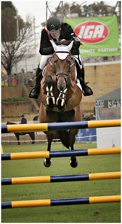Show Jumper - Hans Wellinger<br /> Open - Judge's merit
