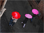 Umbrellas - Lee Bickford<br /> Set Projections - Third place members' choice