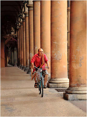 Cycling in Bologna - Lee Bickford<br /> Open Projections - Judge's Merit