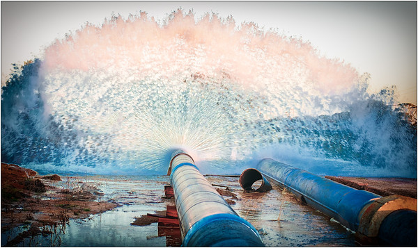 Pipeline Pressure - Ray Ross<br /> Open - First place members' choice