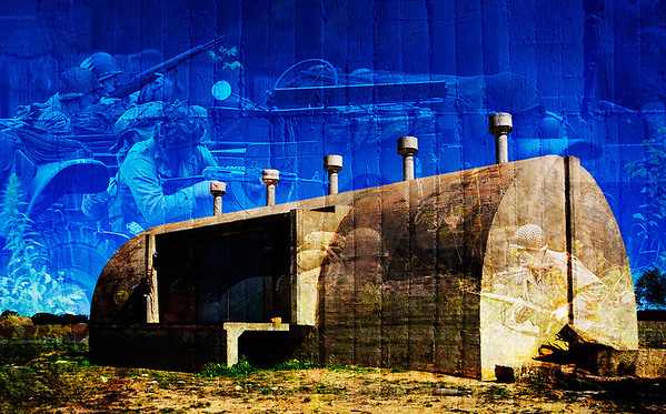 WWII Bunker - Merredin - Stan Bendkowski<br /> Altered Reality - Second place judge's choice and First place members' choice