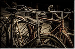 Old Bicycles - Richard Goodwin<br /> Open - Third place judge's choice and second place members' choice