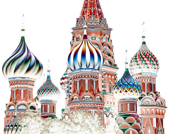 St Basil's Domes - David Sargeant<br /> Altered Reality - Judge's merit