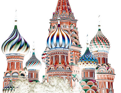 St Basil's Domes - David Sargeant Altered Reality - Judge's merit
