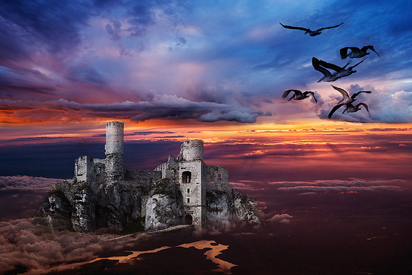 Castle on a Cloud - Stan Bendkowski<br /> Fourth place members' choice - Altered Reality