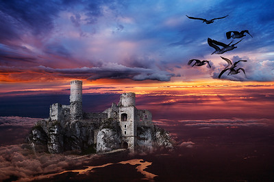 Castle on a Cloud - Stan Bendkowski Fourth place members' choice - Altered Reality