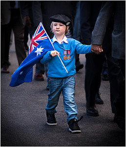 ANZAC Day Parade - Lee Bickford First place members' choice - Set Subject