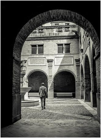 Cloister Walk - Richard Goodwin