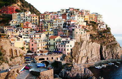 Manarola at Sunset - Kim McAvoy