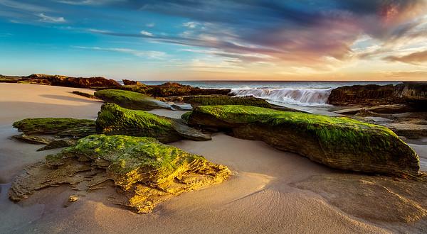 Beach Waterfall - Stan Bendkowski