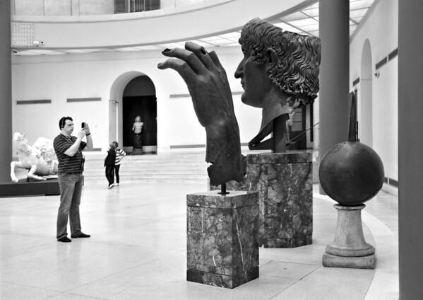 Museum Watching - Lee Bickford