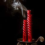 Three Red Candles - Stan Bendkowski