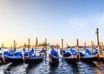 Gondolas at Sunrise - Susan Moss
