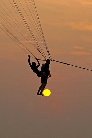 Kicking the Sun - Phil Burrows