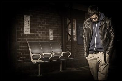 At Melton Station - Richard Goodwin