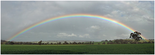 Rainbow - Hans Wellinger