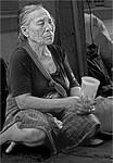 Blind Beggar Woman - Phil Burrows