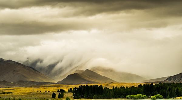 Takapo Clouds - Richard Goodwin