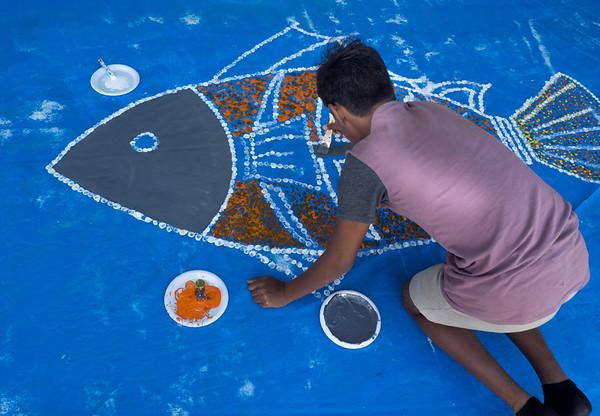 The Dot Artist - Richard Goodwin
