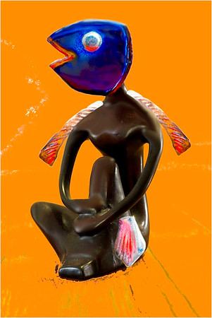 Fish Person - Bruce Finkelstein