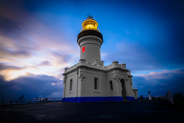 Blue Lighthouse - Peter Chalmers