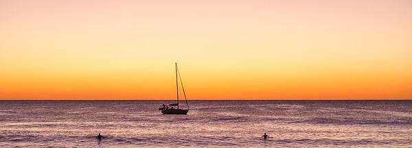 Sunset Swim - Ray Ross