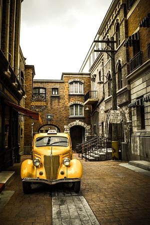 The Old Yellow Taxi - Lemuel Tan