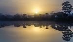 Sunrise at Magic Lake - Kim McAvoy